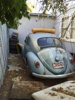 1964 suicide door sunroof bug