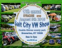 VW club of Central NY annual show promo flyer