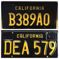 Legacy license plates