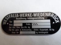 Westy Hitch ID Tag