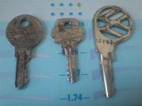 August 1952 Keys