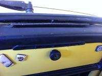 Yellow '71 Wolfsburg production Super Beetle Greece
