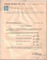 VW of Australia oil temp range
