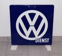 VW enamel dealer signs