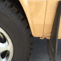 Vanagon tire clearance