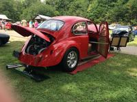 Joe Griffey's red 1969 VW Beetle