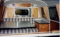 Barndoor Camping Interior