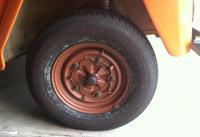 1973 Thing 14 inch rim primed