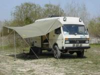 LT40 4x4 with DIY awning