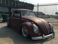Joe Griffey's red 1969 VW Beetle