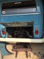 exhaust swap 1970 bus