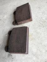 Brake pads and caliper
