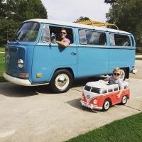 vw bus ride on toy 6volt