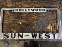 Sun west plate frame