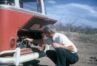 1963 15 Window Deluxe BG SWR L472 L53 Silver Beige Basalt Grey Mexico Church Missionaries