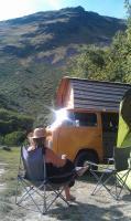 Sunny Wales lake side