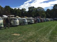Buses at Flanders Air Cooled Gathering