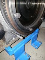lower engine mounting studs