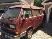 Vanagon before paint