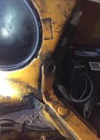 air cleaner bracket type 4 FI