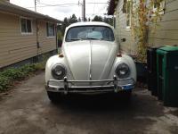 1964 Pearl white sedan