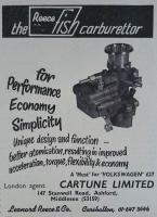 Reece Fish carburettor