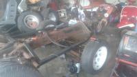 Dune buggy frame build