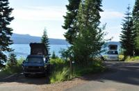 Family camping Diamond Lake OR 2015