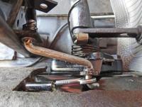 Gas pedal linkage