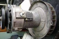 Alternator with 6 Volt Style Backing Plate