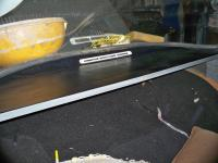 Rear parcel shelf pad 64 Ghia coupe