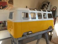 21 window pedal car just painted