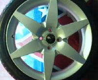 my new 17 inch rims