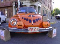 Halloween Pumpkin Super Beetle