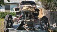 60 ragtop Baja Bug, Mosebilt cage and suspension