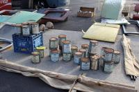 Swap meet photo - paint cans