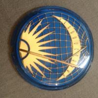 Sun and moon horn button