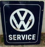 Old VW sign