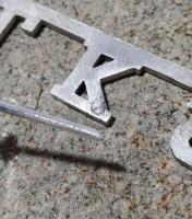 Emblem repair