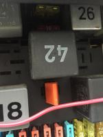 Vanagon fuse panel