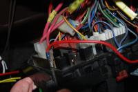 red wire on fuse panel
