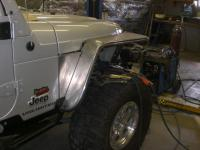 Tube fenders for an off road thing