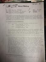 VW Hebmuller internal memo june 1949