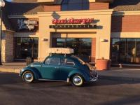 My VW at favorite burger joint