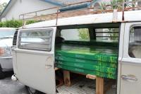 loaded bus