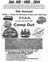 Jan 2016 Camping Trip