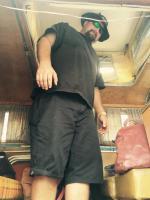 Mannys White Salty bus
