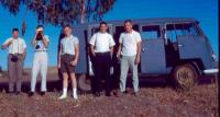 Dove Blue Pressed Bumper Semaphore Kombi Tangiers Tourists 1963 Segapones