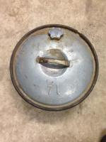 Spare tire gas can