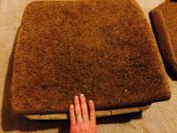 Horse hair pad